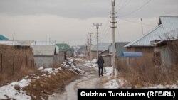 Бишкектеги жаңы конуштардын бири.