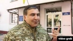 Михаил Саакашвили обличает коррупционеров и олигархов