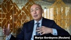 Экс-глава Нацбанка Кайрат Келимбетов. Астана, 16 мая 2018 года.