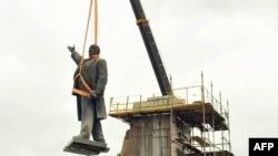 Пам'ятник Леніну в Жовтих Водах на Дніпропетровщині демонтували в 2014 році (фото ілюстративне)