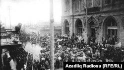 1918 год. Азербайджан, Баку
