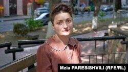 Активист группы «Поможем пострадавшим» Наталия Вацадзе