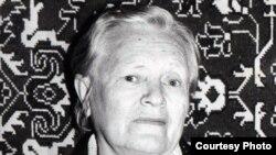 Нацистік лагерьде тұтқында болған Надежда Фартусова. (Отбасылық мұрағаттан алынған сурет)