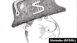 Жемкор. Кимбайкенин азил сүрөтү. 23.7.2011.