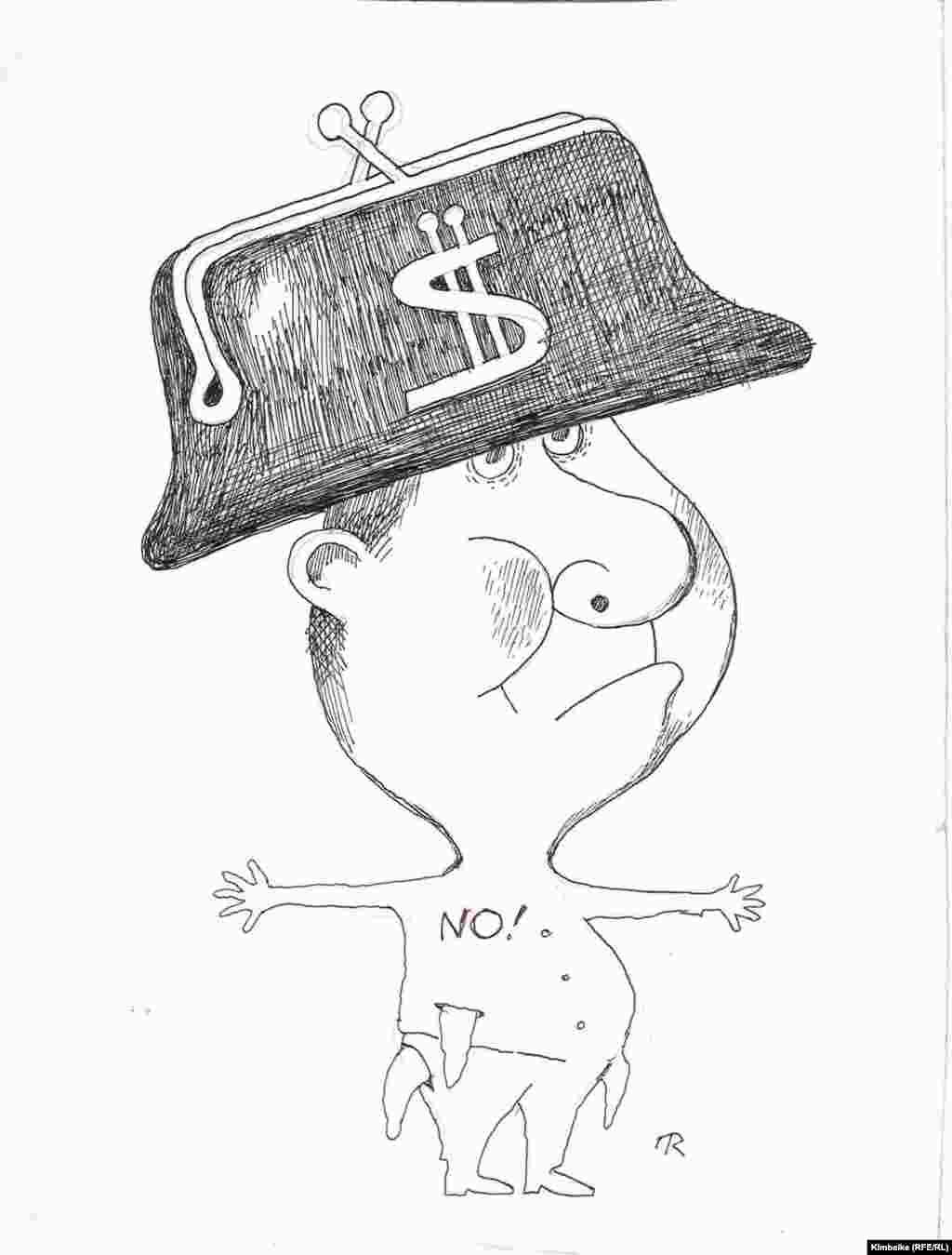 """Кийгени """"кундуз"""" тебетей, адаты - """"жок"""" деп тил эмизмей. """"Азаттык үналгысы"""". TKy. 23.07.2011. - Киреше бербес кайрымдуулуктан жаа бою качкан """"жаңы кыргыз""""."""