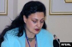 Маргарита Ассенова - исполнительный директор Института новых демократий (IND). Астана, 28 октября 2009 года.