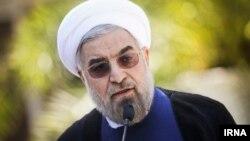 حسن روحانی، رییس جمهور ایران.