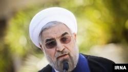 Presidenti iranian Hassan Rouhani