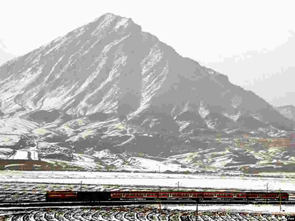 کوه پلو داغي در نزديکي جلفا - گالری عکس و فیلم FARS