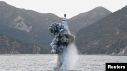 Архивное фото запуска ракеты КНДР