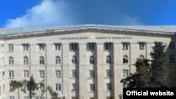 Azerbaijan - Building of Ministry of Foreign Affairs of Azerbaijan, official site
