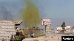 Ядовитое вещество в воздухе после применения химического оружия. Иллюстративное фото.