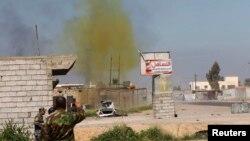 Ілюстраційне фото: іракські військові підривають невибухлий боєзаряд із хлором