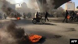 Իրան - Բողոքի ցույցը Սպահանում, 16-ը նոյեմբերի, 2019թ․