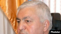 Armenia -- Lieutenant-General Hovannes Hunanian, deputy chief of the national policeundated
