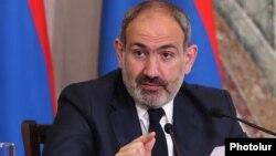 Премьер-министр Никол Пашинян на пресс-конференции, Ереван, 8 мая 2019 г․