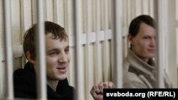 Зьміцер Дашкевіч, Эдуард Лобаў, суд