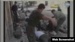 Snimka ranjavanja Ismeta Svrake prikazana u Hagu, 5. studeni 2012.