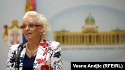 Jorgovanka Tabaković u Skupštini 6. avgusta 2012.