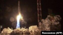 Запуск российской ракеты-носителя «Зенит» на космодроме Байконур. Иллюстративное фото.