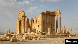 ტაძარი ბელი სირიის ქალაქ პალმირაში.