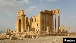 The Temple of Bel was built in the historical city of Palmyra some 2,000 years ago. (file photo)