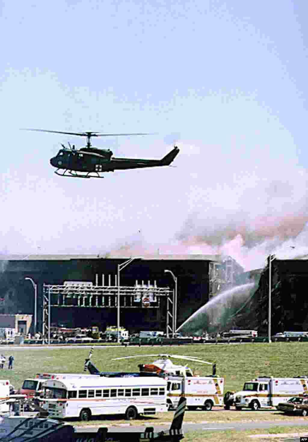 پنتاگون، ۱۱ سپتامبر ۲۰۰۱