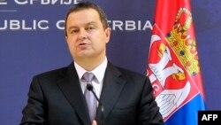 Српскиот министер за надворешни работи Ивица Дачиќ