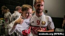 Новая форма зборнай Беларусі па футболе