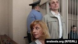 Ирина Халип в зале суда