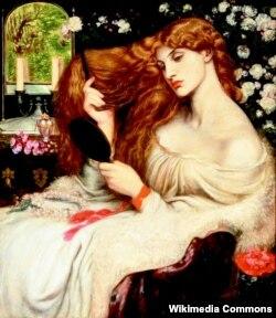 Дантэ Габрыэл Расэці, «Лэдзі Ліліт» (1868)