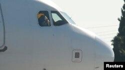 Airbus A320 учоғининг тумшуқ қисми