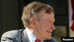 Джордж Буш-старший в апреле 2013 года.