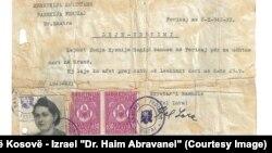 Lažne isprave za jevrejske porodice