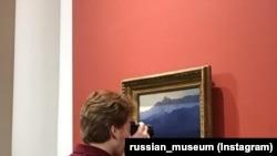 Выставка картин Куинджи в Русском музее