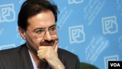 "Political dissident and renowned Iranian journalist, Alireza Rajaei, before his surgery, his prison-mates say the prison infirmary officials denied his requests to be sent to hospital and dismissed his complaints of pain in his face ""only giving him pain killers"", undated"