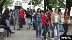 Učenici srednje škole, foto: Savo Prelević
