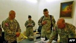سخنگوی ارتش آمریکا ايران را به «حمايت از حمله ای به نيروهای آمريکايی در شهر کربلا» متهم کرد.