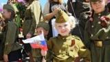 "Ukraine, Crimea - Action ""Immortal regiment"" in Feodosia, 09May2016"