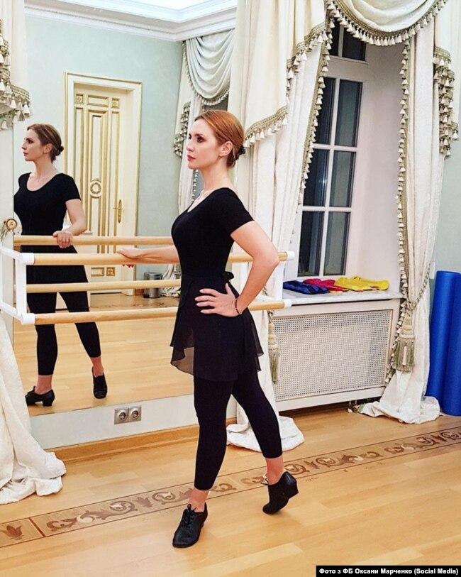 Оксана Марченко активно готується до участі у танцювальному шоу, прем'єра якого запланована на 26 серпня