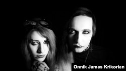 "Bella and Sandro ""Manson"": This gothic couple was influenced by American musician Marilyn Manson. They plan to hold an event to mark World Goth Day in Tbilisi on May 22, 2016. ""  I hope it will contribute to the development of the Georgian gothic music and subculture scene,""  he says."