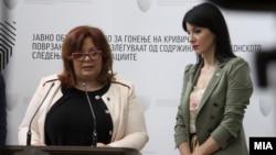 Специјалните обвинителки Катица Јанева и Фатиме Фетаи
