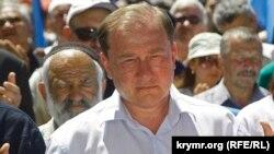 Заместитель председателя меджлиса крымских татар Ильми Умеров.