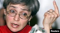 Slain journalist Anna Politkovskaya (1958-2006)