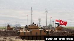 نیروهای نظامی ترکیه و عراق در روزهای اخیر سرگرم برگزاری یک رزمایش مشترک در شمال عراق هستند.