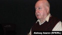 Журналист Юрий Криницианов. Алматы, 15 қыркүйек 2015 жыл.