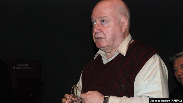 Журналист Юрий Криницианов. Алматы, 15 октября 2015 года.
