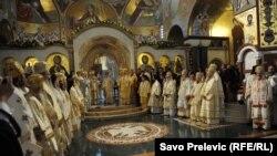 Podgorica: Osvještenje hrama SPC