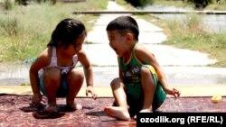 Узбекские дети.