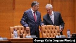 Liderii PSD și ALDE, cândva parteneri la guvernare, acum în poziții antagonice